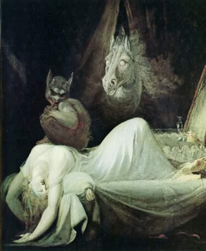 Henry Fuseli - Nachtmahr (1802)